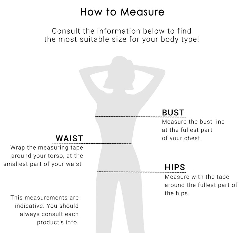 Size guide meassurements